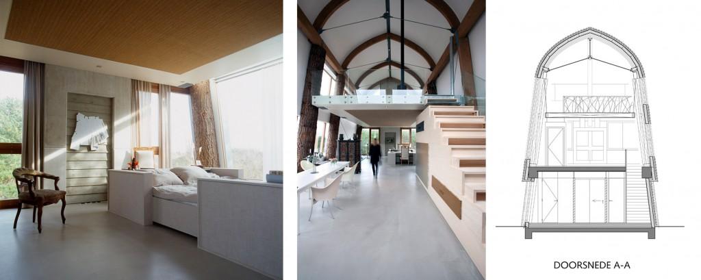 Slow architecture van architectenbureau Min2, Bergen aan Zee, architectuur, huis ontwerpen, huis in duinen