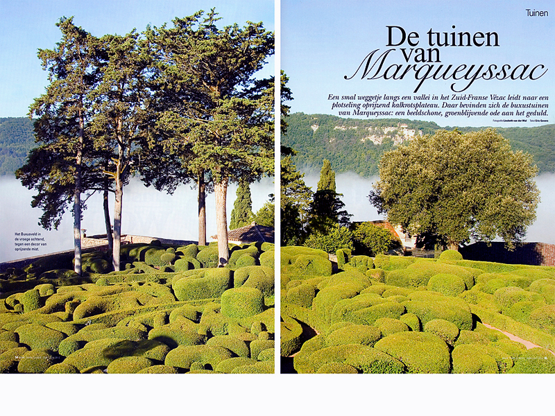 De tuinen van Marqueyssac, vakantie Frankrijk, tuinontwerp, tuin architectuur, groen, travel France, © Tekst Eric Govers, Foto's Liesbeth van der wal, www.santmedia.nl