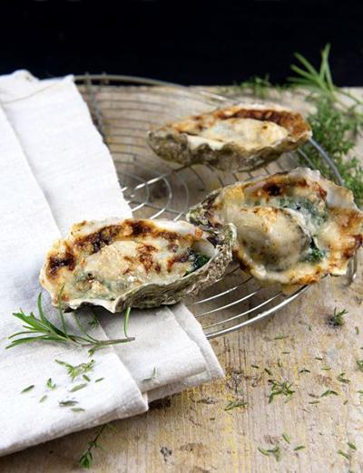 gegratineerde-oesters-spinazie-parmigiano©liesbethvanderwal