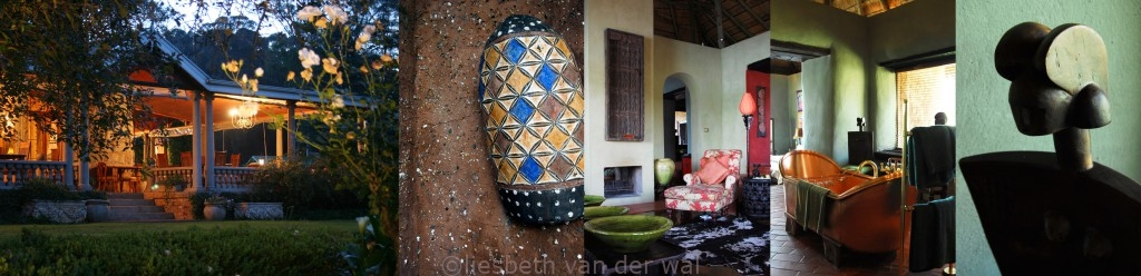 reizen Zuid Afrika, travel South Africa, vakantie Zuid Afrika, OmdeWest.com Hartford House Summerhill Tekst: Eric Govers, Foto's: Liesbeth Govers - van der wal