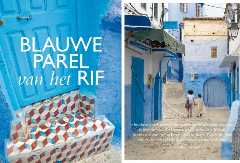 Chefchaouen, blauwe parel van het Rif